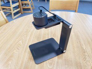 LaserPecker laser engraver on table